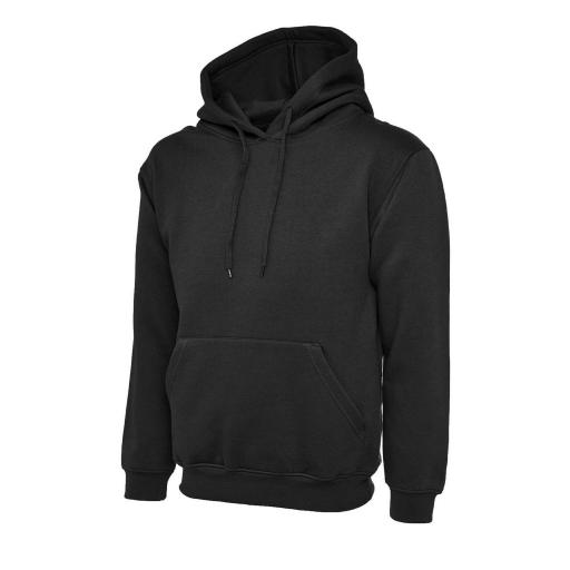 UNEEK UC501 Premium Hooded Sweat with FREE Logo