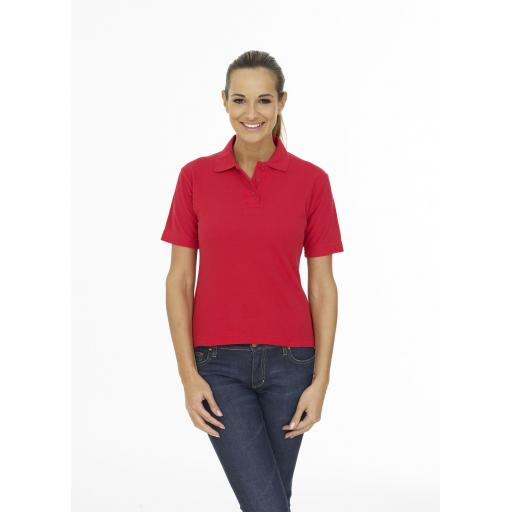 Europa Club UC106 Ladies Polo Shirt