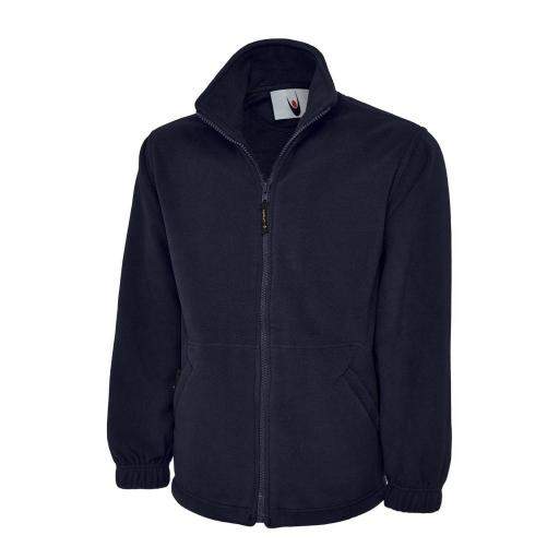 UNEEK UC604 Classic Full Zip Micro Fleece with FREE Logo