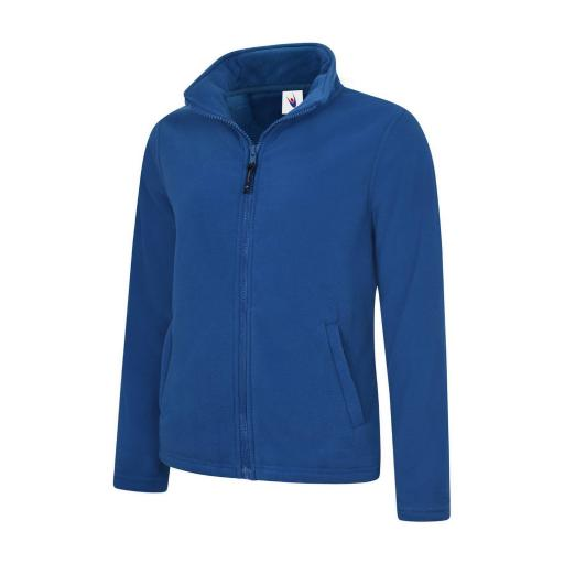 UNEEK UC608 Ladies Classic Full Zip Micro Fleece with FREE Logo