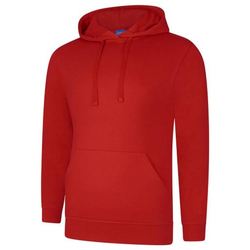 UNEEK UC509 Deluxe  Hooded Sweat with FREE Logo