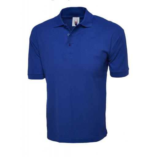 UNEEK UC112 Cotton Rich Polo Shirt with FREE Logo