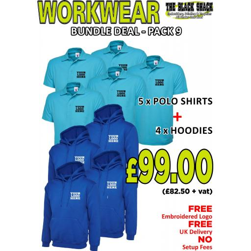 Workwear Bundle - PACK 9 (T)