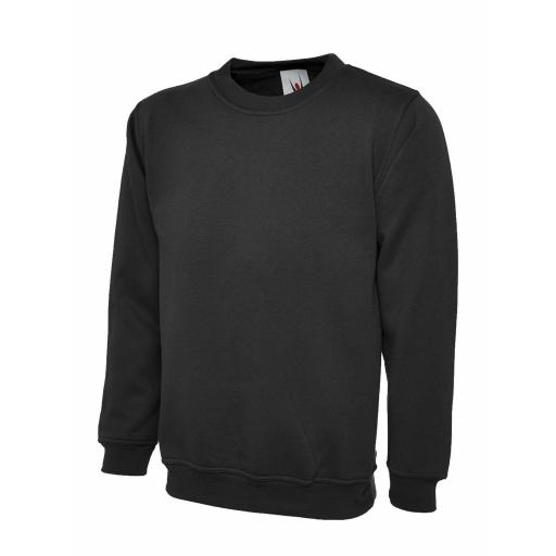 UNEEK UC203 Classic Sweat Shirt with FREE Chest Logo - £12.50