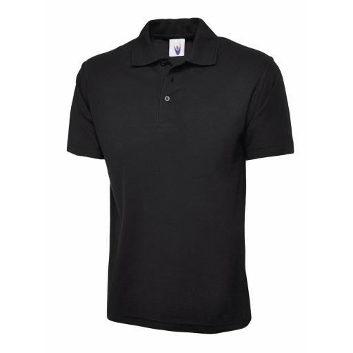 UNEEK UC101 Classic Polo Shirt with FREE Chest Logo - £10.00