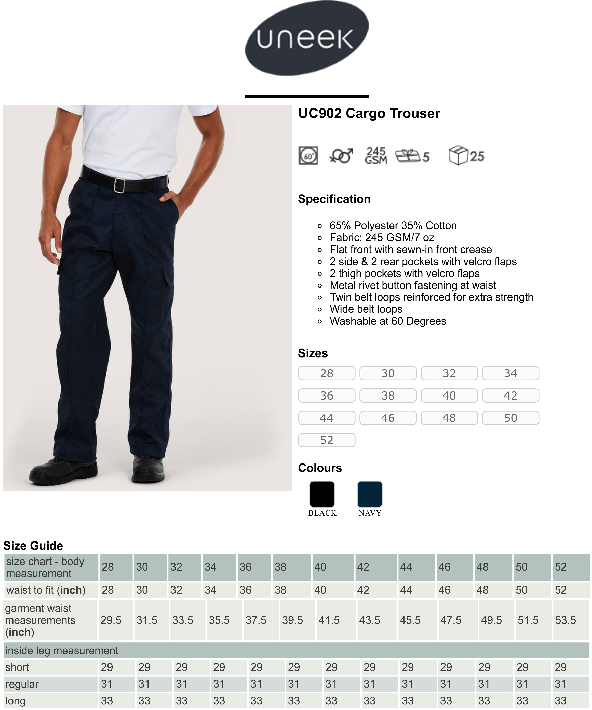 UC902 Cargo Trousers Spec Sheet.jpg