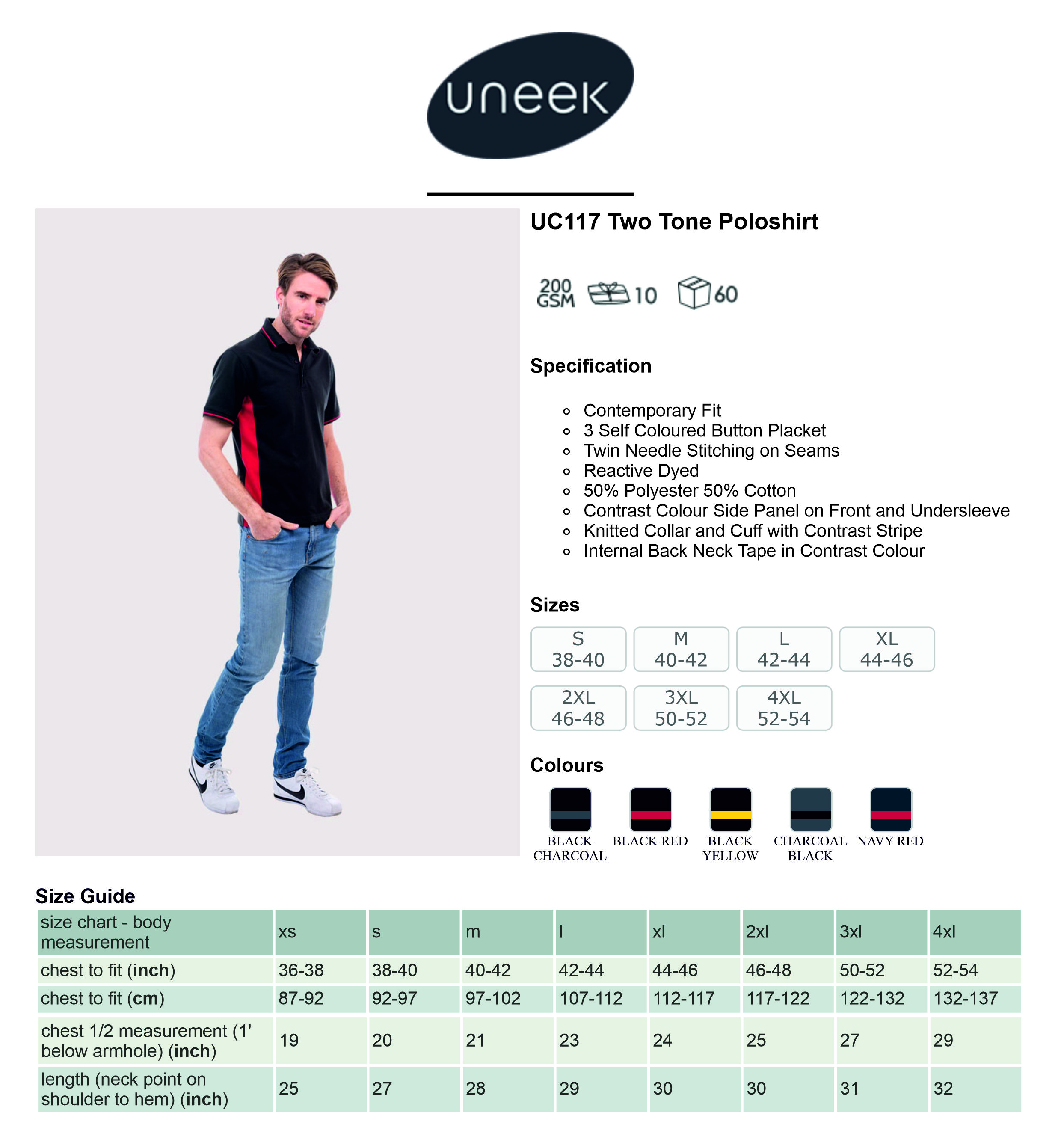 UC117 Two Tone Polo Shirt.jpg