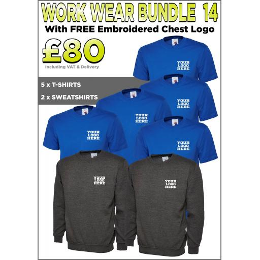 Work Wear Bundle - PACK 14