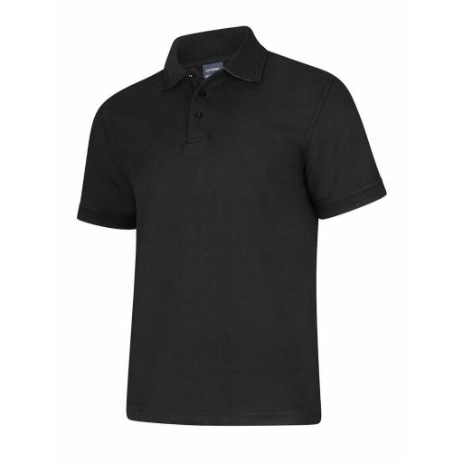 UNEEK UC108 Deluxe Polo Shirt with FREE Chest Logo - £10.00