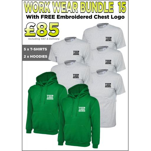 Work Wear Bundle - PACK 15