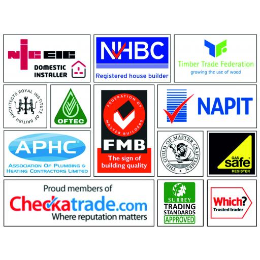 Embroidered Trade Association Logos From £4.00