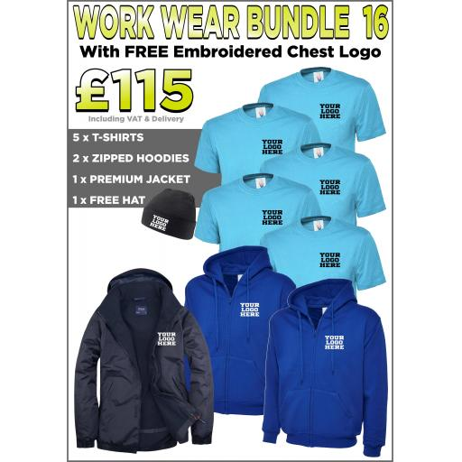 Work Wear Bundle - PACK 16