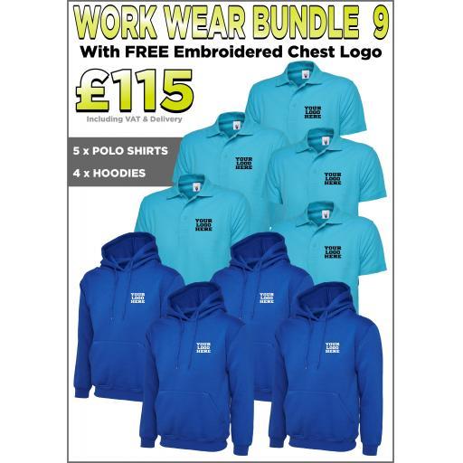 Work Wear Bundle - PACK 9