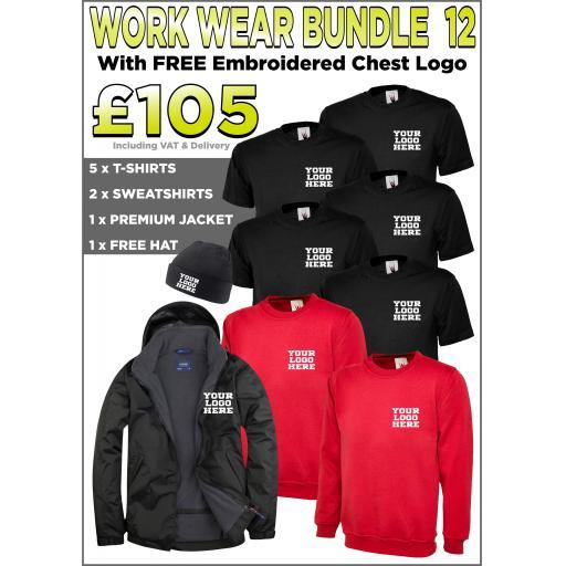 Work Wear Bundle - PACK 12