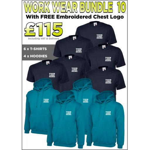 Work Wear Bundle - PACK 10