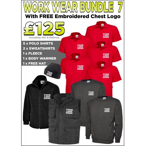 Work Wear Bundle - PACK 7