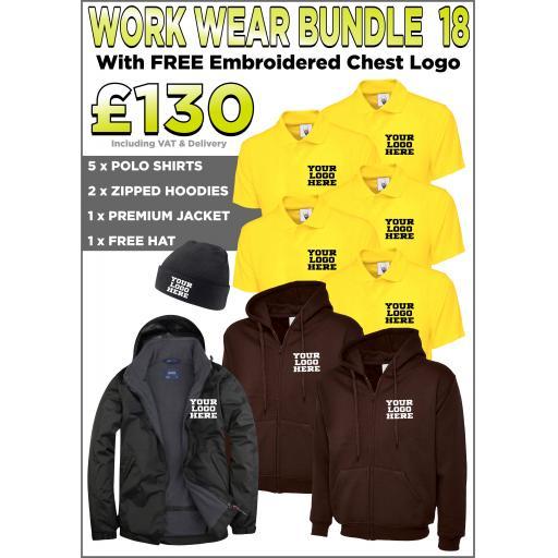 Work Wear Bundle - PACK 18