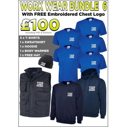 Work Wear Bundle - PACK 6