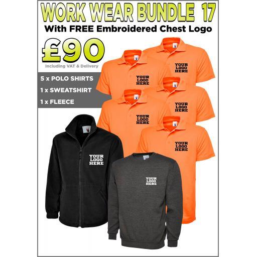 Work Wear Bundle - PACK 17