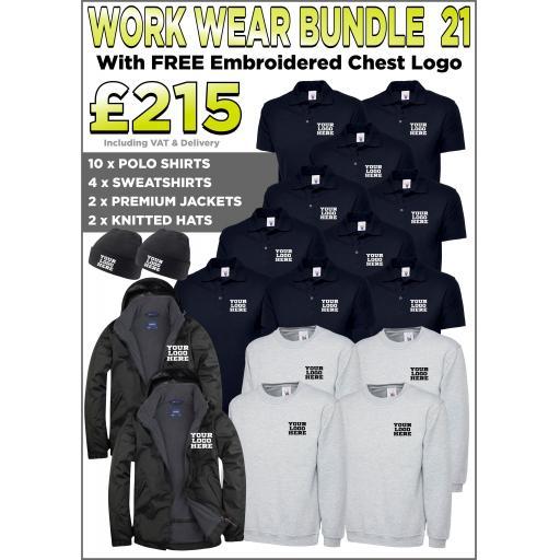 Work Wear Bundle - PACK 21