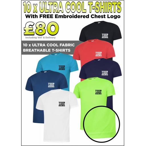 Ultra Cool Breathable T-Shirt Bundle
